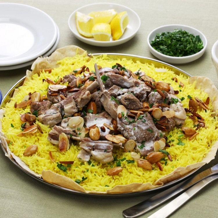 It is considered Jordan's National dish but has gained more popularity in Palestine