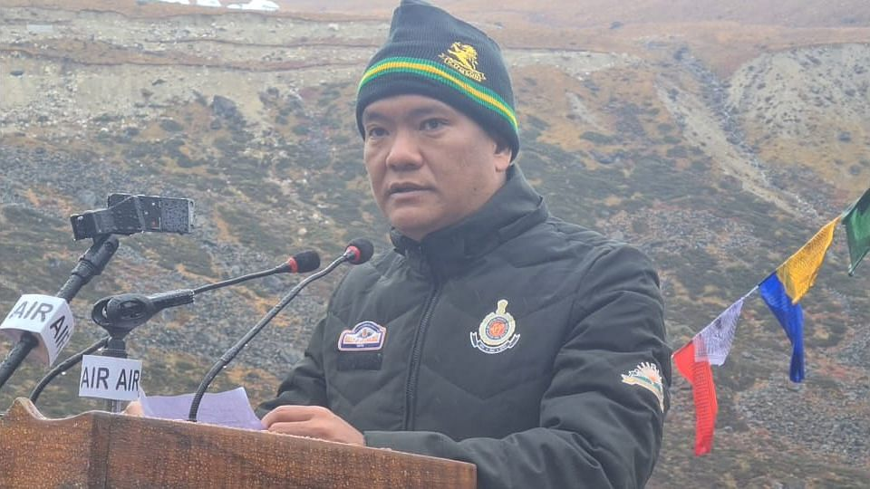 CM Pema Khandu said that no one can erase history and that the entire world knows that China annexed Tibet
