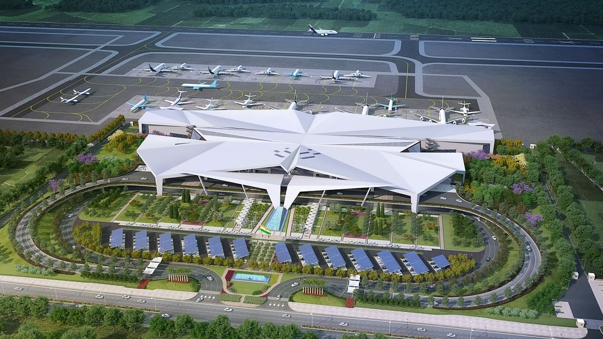 IN PHOTOS: New terminal building at Guwahati airport on track; to be ready by June 2022