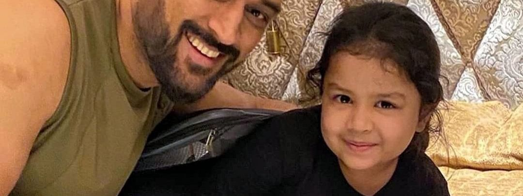 Ziva is the 5-year-old daughter of Chennai Super Kings (CSK) captain MS Dhoni