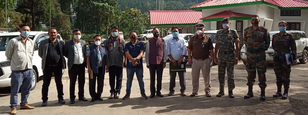 NSCN-R team alongside the GoI representatives led by CFMG/CFSB chairman