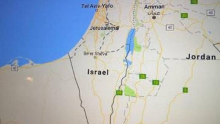 The search engine of Google and Apple deleted the name of the state of Palestine from their approved maps