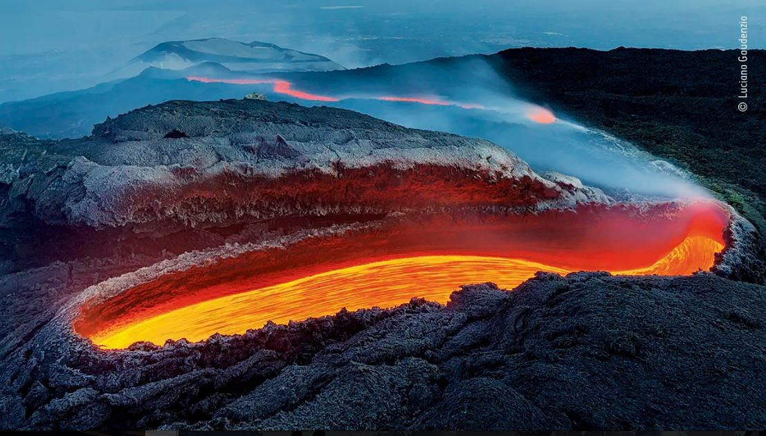 Etna's river of fire by Luciano Gaudezino
