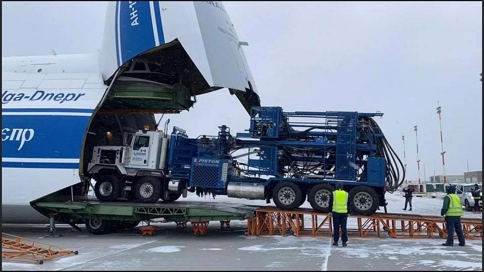 Worlds largest cargo aircraft flys in equipment for Baghjan blowout well in Assam