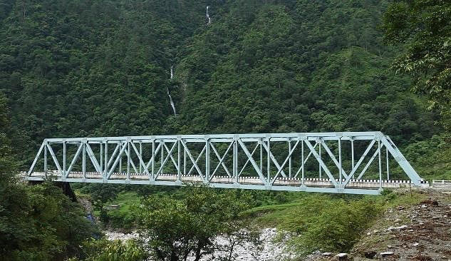 The bridges have been designed to facilitate movement of heavy civil & military traffic in border areas