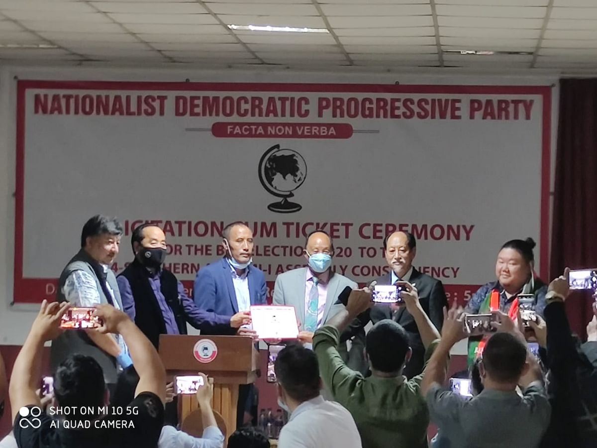 PDA government's consensus candidate receiving the party ticket on Thursday