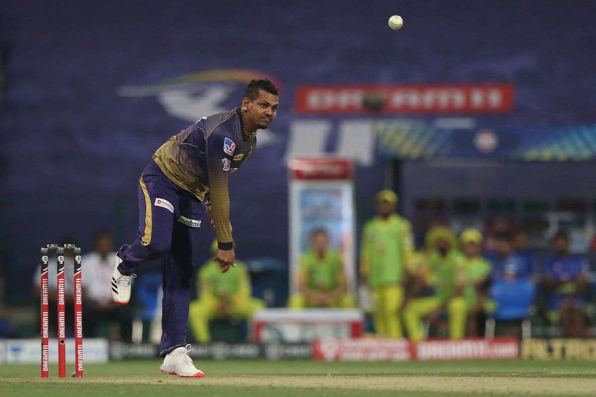 Sunil Narine trapped Watson lbw in the 14th over pulling the match back for KKR