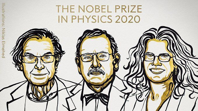 3 scientists get Nobel Prize in Physics for discoveries relating to Black Holes
