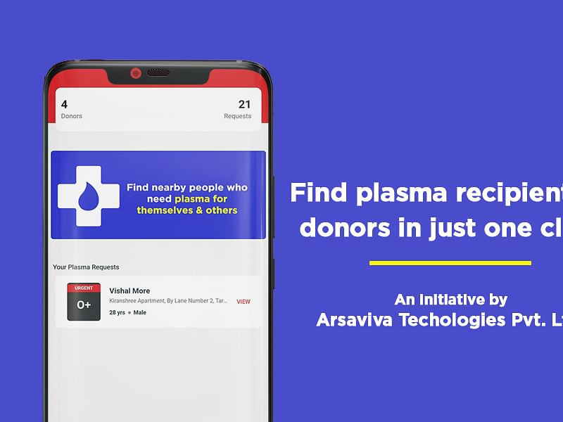 Assam IT company launches app to connect COVID-19 patients with plasma donors