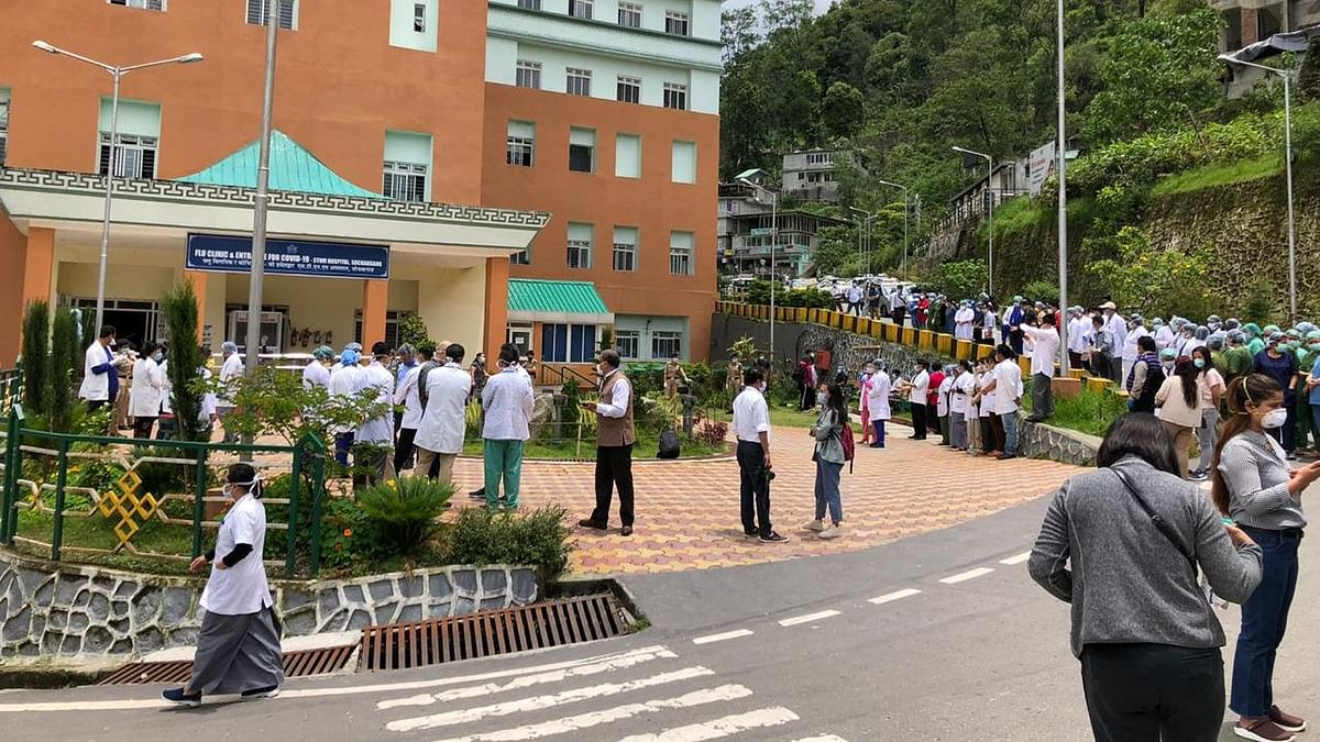The casualty on Sunday is a 78-year-old male from Upper Burtuk in Gangtok capital region