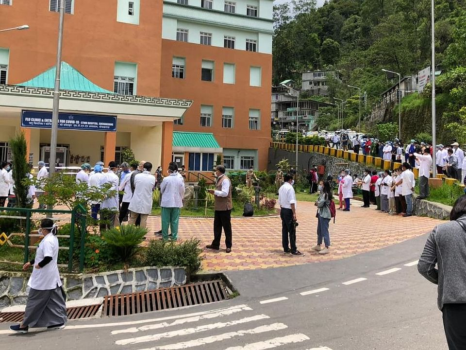Sikkim doctors choose to forgive bikers who abused them and created chaos in the hospital