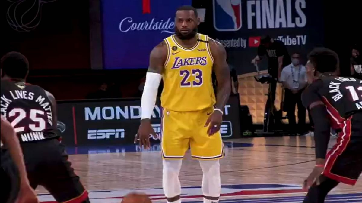 NBA finals: LeBron James helps Lakers take game 4, moves one win away from title