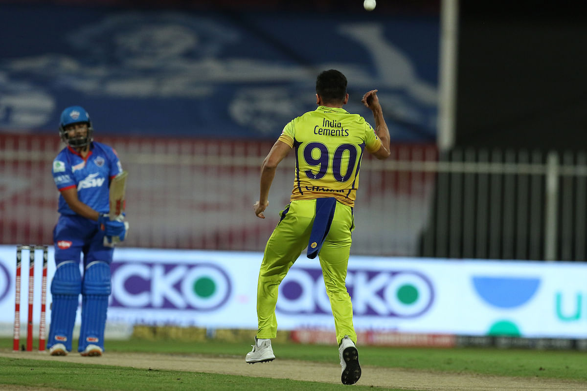 Deepak Chahar bowled brilliantly at the top as he picked up two important wickets giving away just 18 runs in his four overs