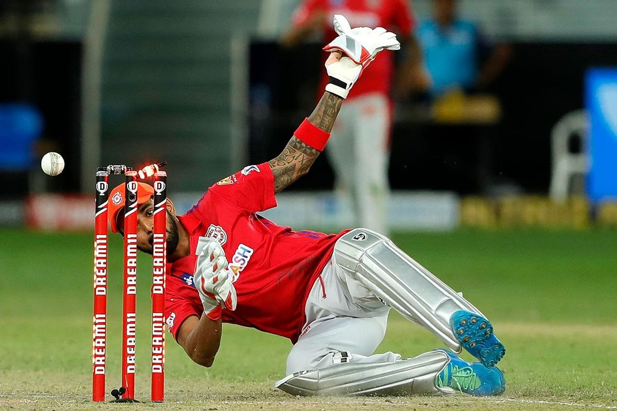 KL Rahul completed a brilliant run-out to take the game into a second Super Over