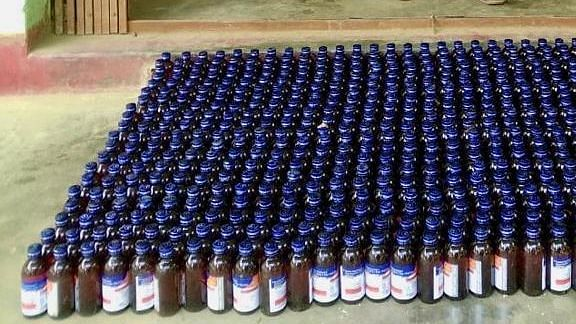 Nagaland police seize bottles of illegal Codeine cough syrup in Kohima; 1 held