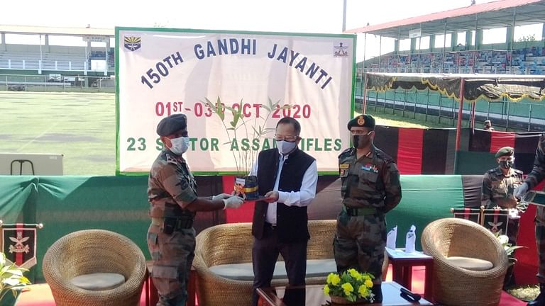 Mizoram home minister lauds role of Assam Rifles in development of state