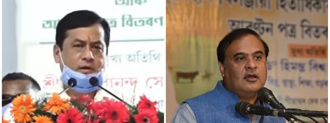 CM Sonowal attended an event in Majuli, while Himanta Biswa Sarma was in Jorhat