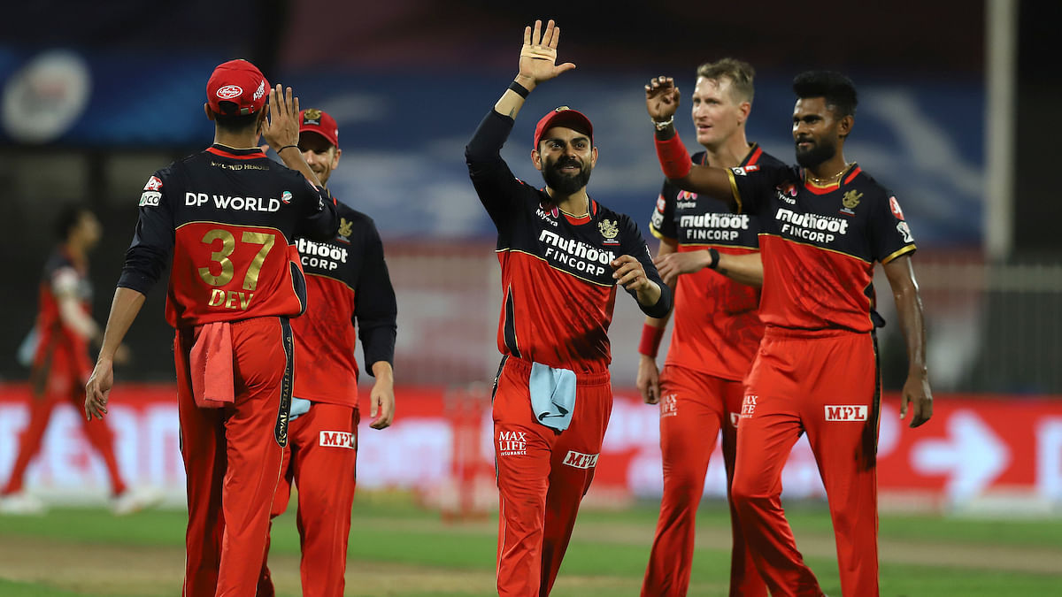 IPL 2020| RCB thrash KKR by 82 runs; move up to third in points table