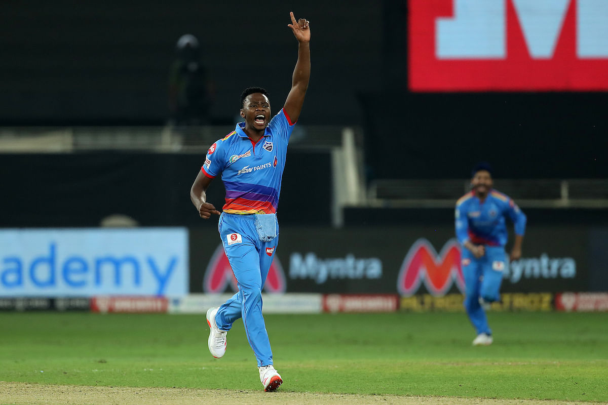 Kagiso Rabada picked up four wickets in four overs giving away just 24 runs