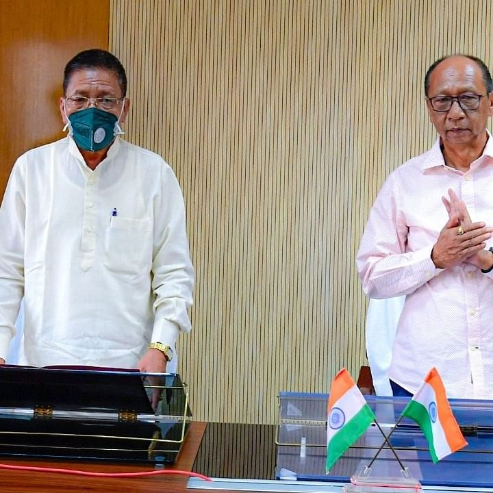 Manipur by-poll: Newly elected MLA Ginsuanhau Zou sworn-in