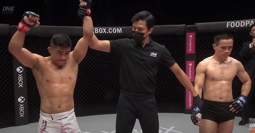 Roshan won by rear-naked choke (RNC) at 2 minutes and 27 seconds in the second round