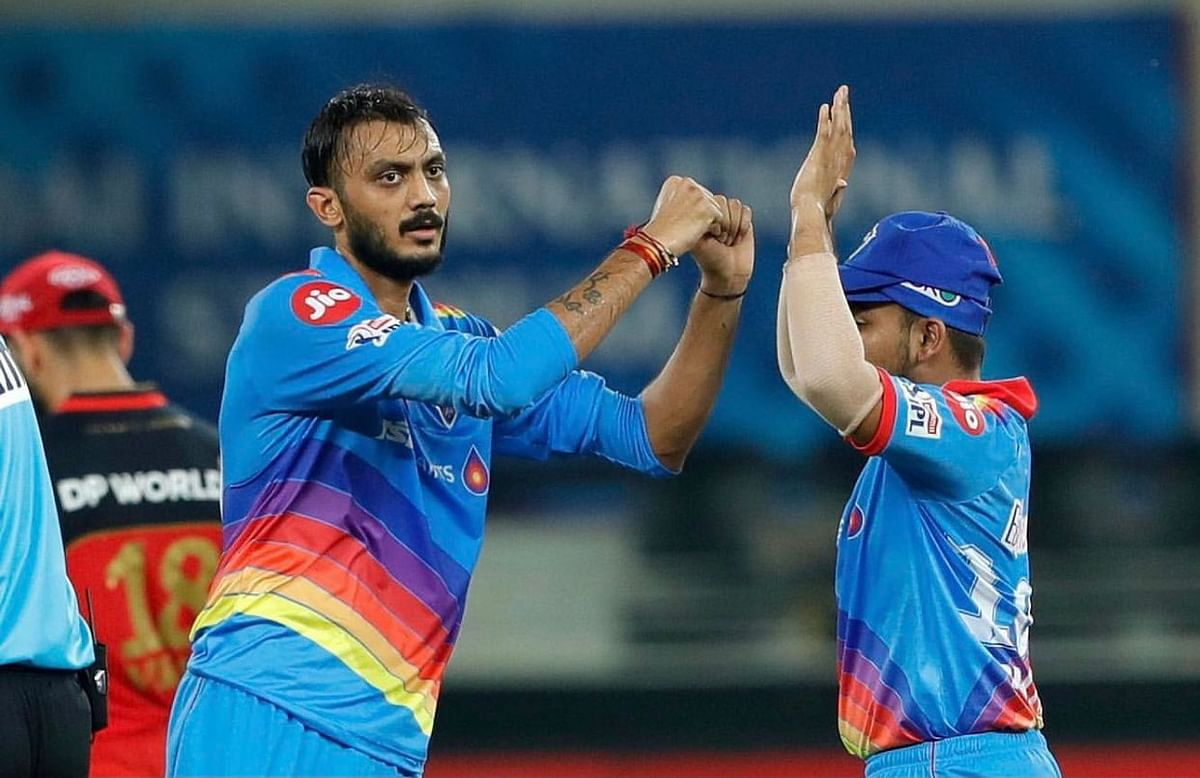 Axar Patel picked up two important wickets giving away just 18 runs in four overs
