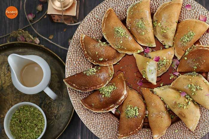 Qatayef is one of the most delicious sweets.