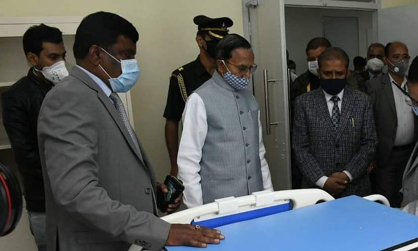 Sikkim Governor Ganga Prasad, on Monday, announced an ex-gratia of Rs 1 lakh each to the next kin of COVID-19 warriors who died due to the virus
