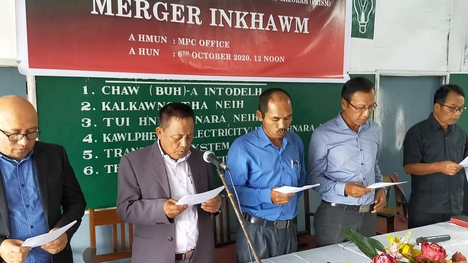 Mizoram: MPC, PRISM merge to become People's Conference Party