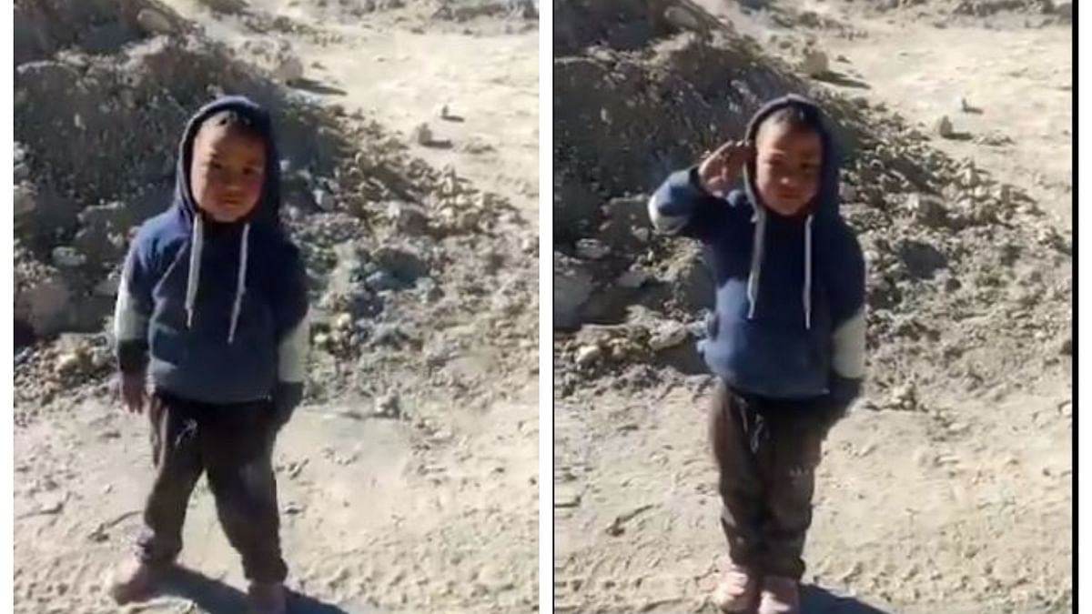 Why is this little boy from Leh trending in Twitter?