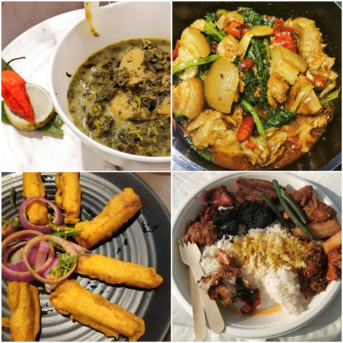 Few dishes from the kitchen of Michinga
