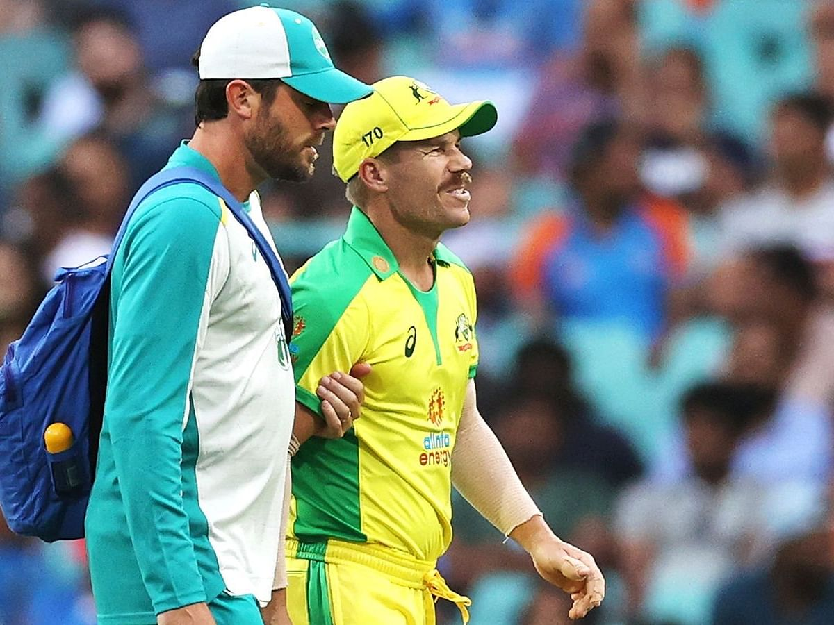 IND vs AUS| David Warner ruled out for remaining limited-overs tour