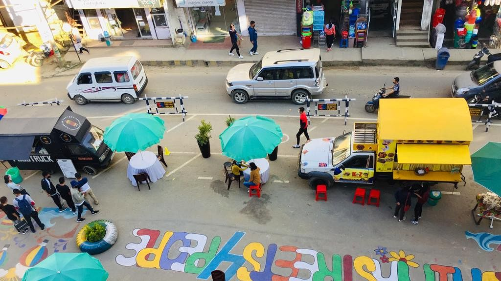 Streets for people challenge: Kohima smart city initiates pop-up event