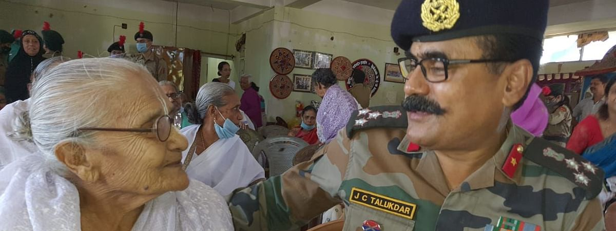 IN PHOTOS: 47 Assam R&V Sqn NCC visit old-age home with Diwali gifts
