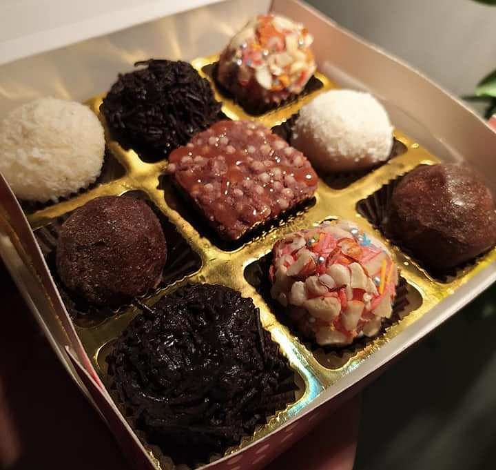 The newly introduced chocolate variants: Red Velvet, Choco Mocha, White Coconut, and Dark Chocolate