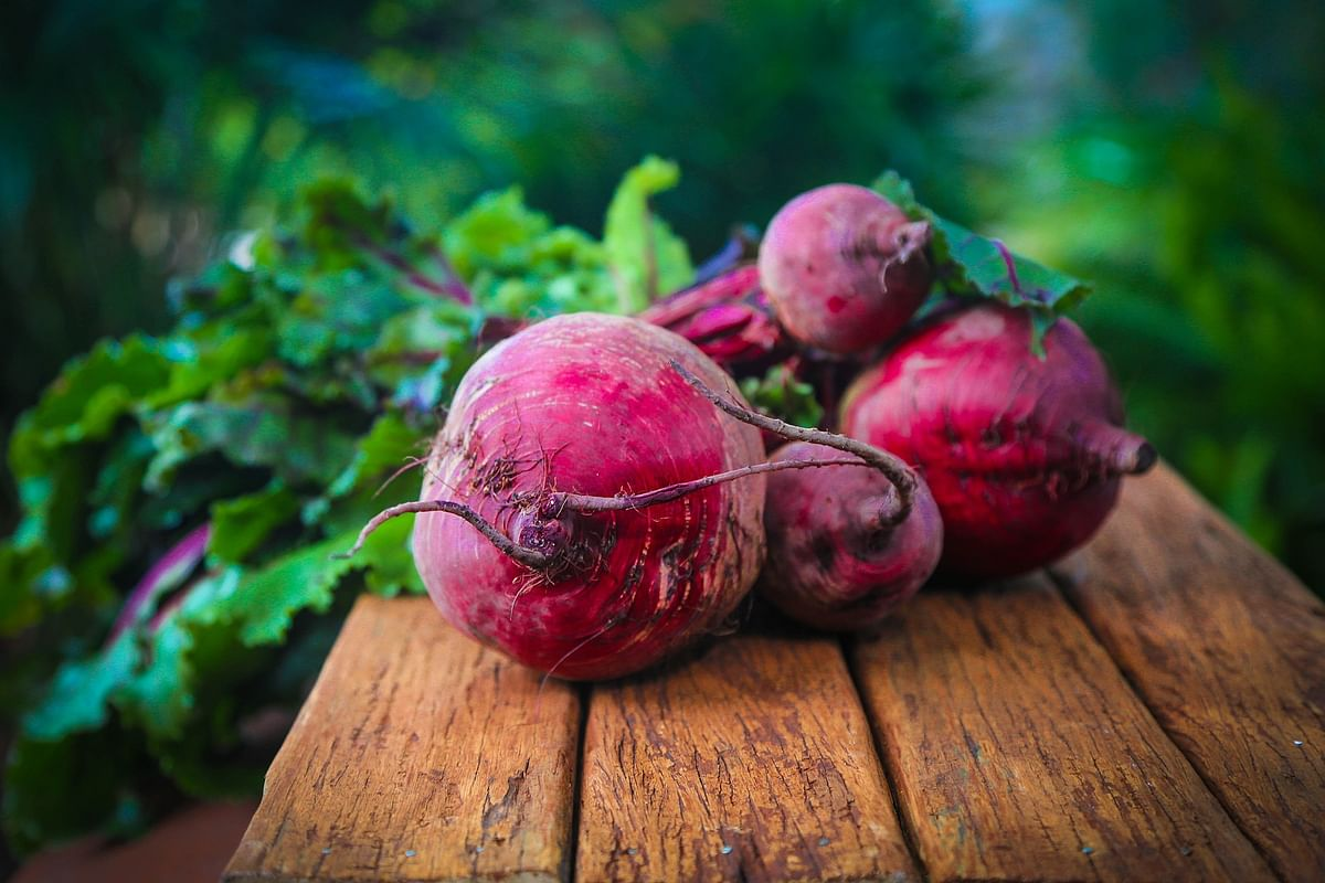 Beetroots have antioxidants and are good for the skin and hair