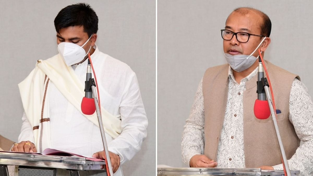 Manipur: Four newly-elected MLAs, including lone Independent candidate, sworn-in