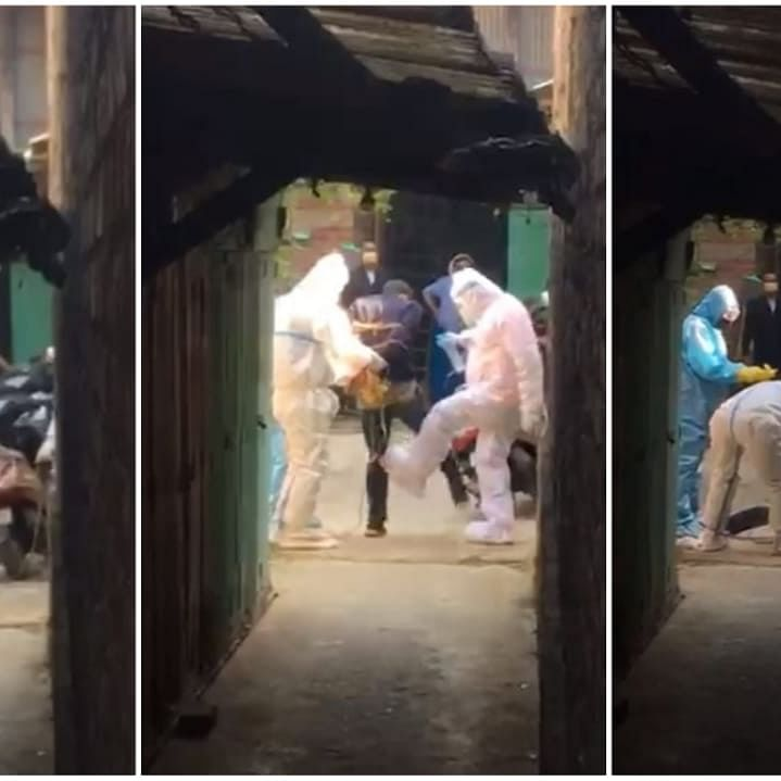 Watch: Viral video of healthcare workers attacking patient in Manipur