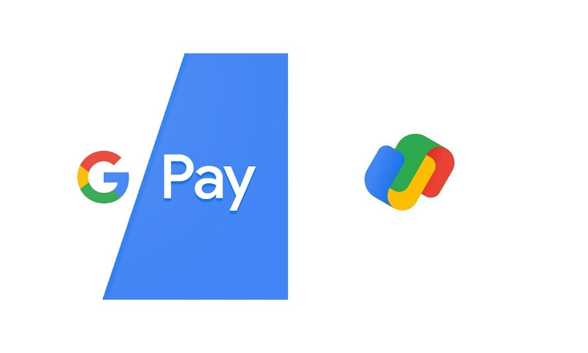 The new (right) and the old G-Pay logo