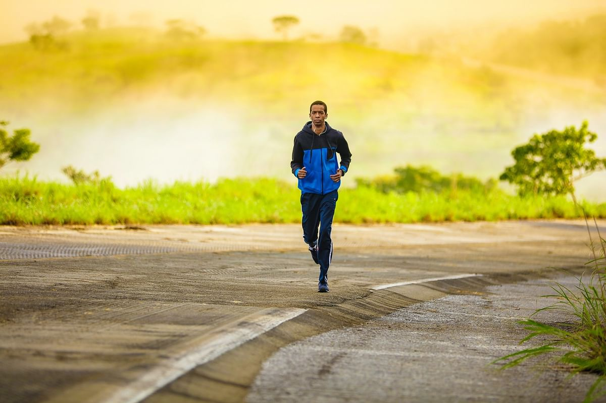 Between your work hours, take up any light exercise to perform for a few minutes