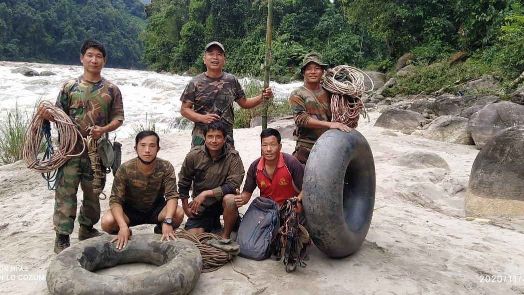 Indian Army rescues two women from drowning in turbulent Siyom river in Arunachal
