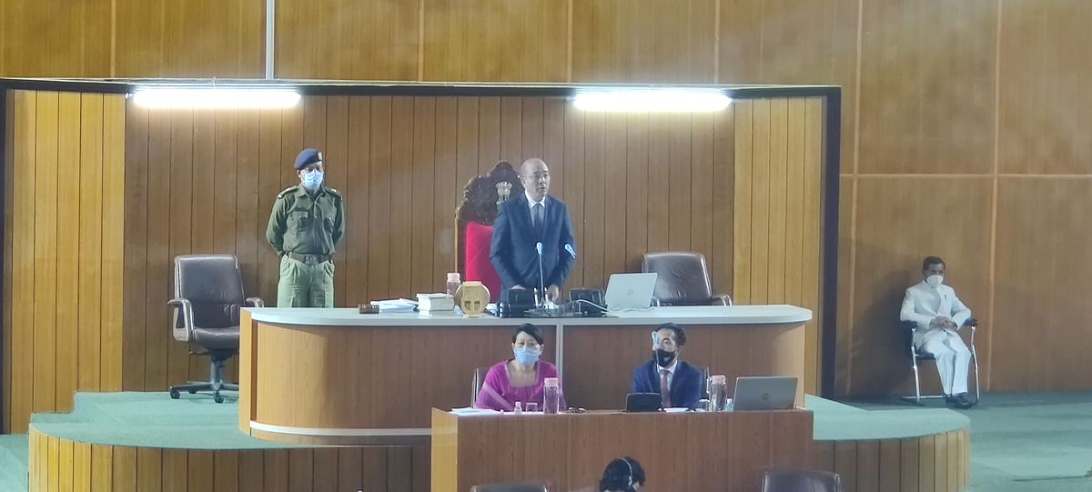 Day one of Autumn session of the Meghalaya Legislative Assembly