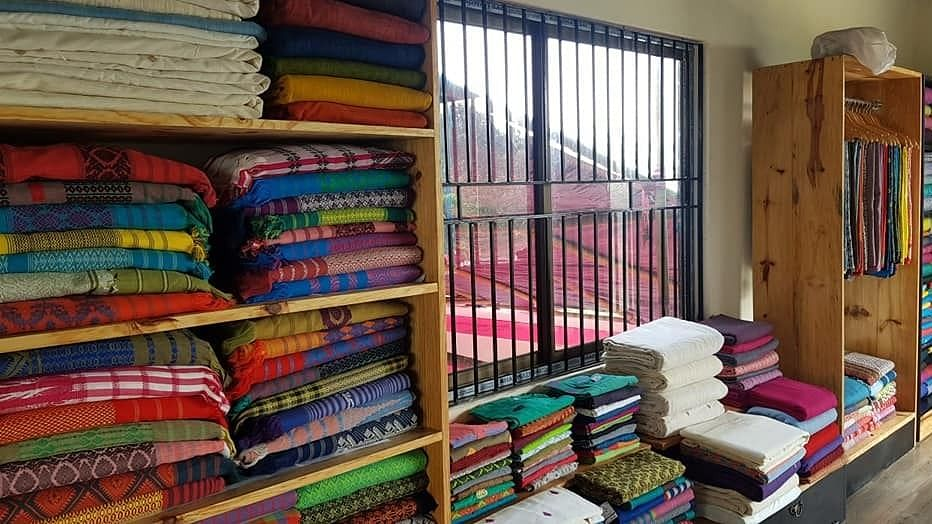 From the weaving process to the use of non-toxic, indigenous dyes that are eco-friendly, the couple has prioritized safety and the uplifting of Assamese communities over everything else