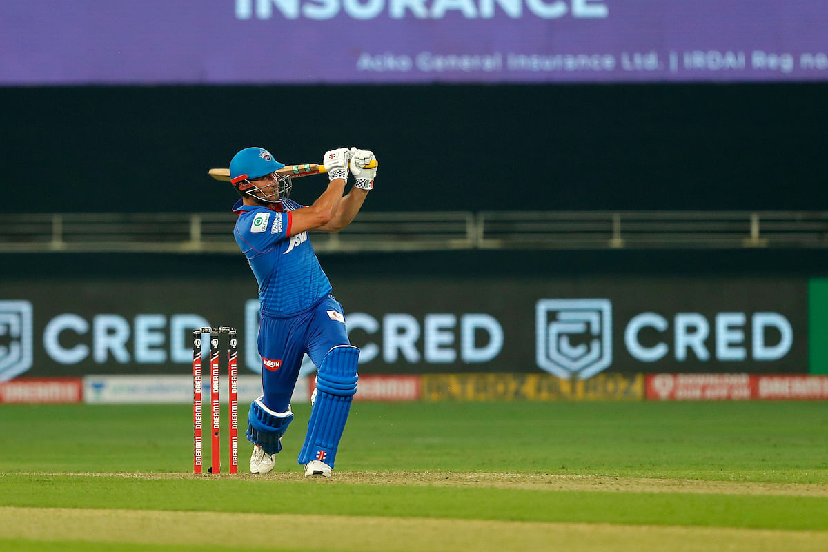 Marcus Stoinis gave Delhi a very good start with a knock of 38 off 27 up at the order