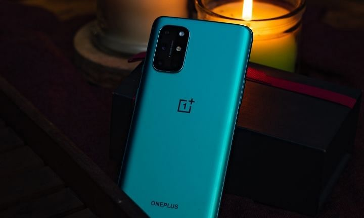 The 48 MP camera on the OnePlus8T 5G