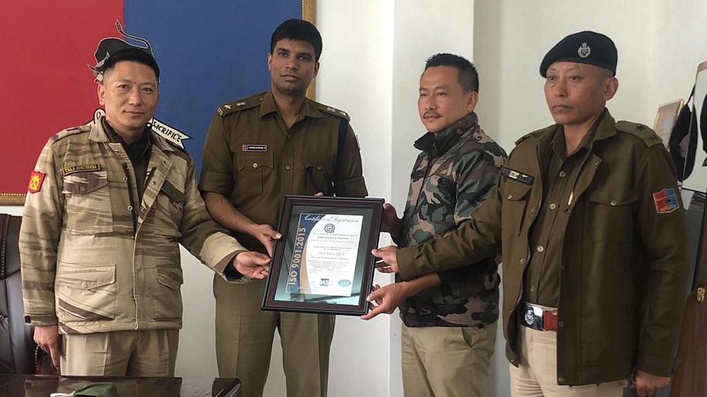 Police Station in Kohima becomes first of its kind in Nagaland to get ISO certification