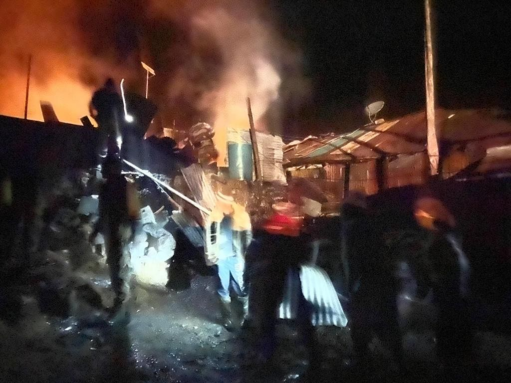 The Indian Army averted a major fire incident in the remote village of Yak La at 1:10 am in East Sikkim district on the night of 27 November