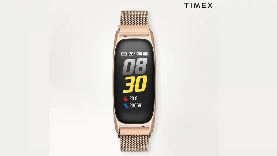 Timex fitness band with up to 5-day battery launched in India; priced at Rs 4495