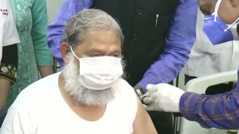 Haryana: Health minister Anil Vij given first trial dose of Covaxin