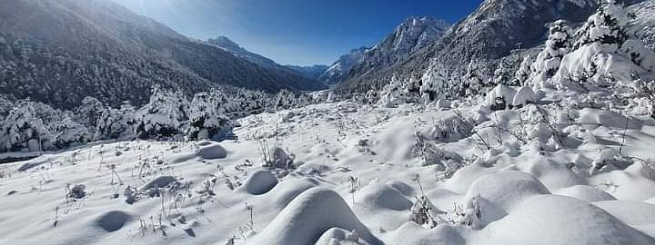 IN PICS: Sikkim's Lachung village draped in snow is ready to welcome tourists